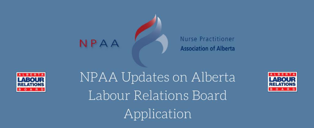 Nurse Practitioner Association Of Alberta Npaa Updates On Alberta